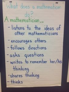 What does a mathematician do?
