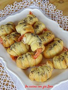 Antipasto, Street Food, Finger Foods, Food Videos, Shrimp, Seafood, Cooking, Mousse, Desserts