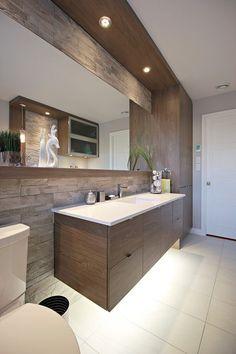Impress Your Visitors with These 14 Charming Half-Bathroom Designs Laundry Room Bathroom, Bathroom Toilets, Bathroom Renos, Small Bathroom, Master Bathroom, Bad Inspiration, Bathroom Inspiration, Modern Bathroom Design, Bathroom Interior Design