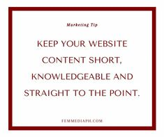 All of your web visitor need to know why you are the right company for them. Up to of them won't waste time to read unnecessary information. Give them the REASON WHY they should consider you, RIGHT AWAY. Business Sales, Digital Marketing, Knowledge, Consciousness