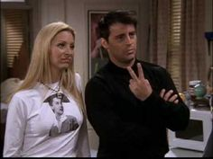 Phoey ( Phoebe Buffay and Joey Tribbiani) Friends Joey And Phoebe, David Crane, Ross Geller, Joey Tribbiani, Phoebe Buffay, Chandler Bing, Rachel Green, Friends Tv Show, Best Shows Ever