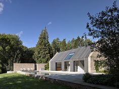 Michaelis Boyd Associates — Gloucestershire Pool House and Stables Architecture Durable, Architecture Design, Residential Architecture, Modern Barn House, Contemporary Barn, Rural House, Modern Pools, Shed Homes, Pool Houses