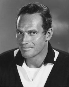 Charlton Heston - hero - great actor, conservative, fought for minorities, adored his wife - great cowboy, too.  Liberals hated him.