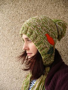 """Just added this to my """"must knit"""" list after seeing one on a friend's daughter. Lovely!"""