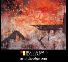 Encaustic Painting, Wax, Old Things, Fire, Artists, Website, Canvas, Gallery, Shop