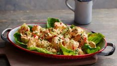 Step back into 1952 and showcase the classic chicken salad for a delicious lunch of Coronation nostalgia. Coronation Chicken Recipe, Jamie Oliver Chicken, Victoria Sponge Recipe, Almond Chicken, Vegetable Puree, Retro Recipes, Toasted Almonds, Dressing Recipe, Salad Dressing