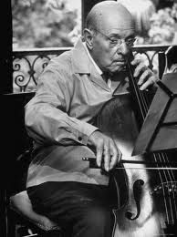 "When Pablo Casals was ninety, he was asked why he continued to practice the cello every day. He replied, ""Because I think I'm making progress."" He practiced Bach's Unaccompanied Cello Suites for TWELVE years before playing them in public. (see below for more about the suites. rw)"