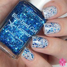Blue-Eyed Girl Lacquer: Siren's Birthday Sprinkles (Siren Series) #blueeyedgirllacquer #begl #beglove #swatch #indiepolish #beglsiren