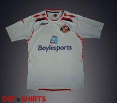Sunderland-Away-Football-Shirt-2007-2008-Jersey-Maglia-Trikot-Soccer