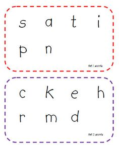 glance cards for phonics