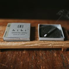 hibi strike-able matchstick incense - 10 mins of relaxing fragrance