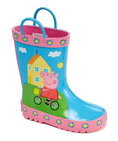 Look what I found on #zulily! Peppa Pig Rain Boot by Esquire Footwear #zulilyfinds