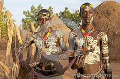 African tribal men by Antonella865, via Dreamstime
