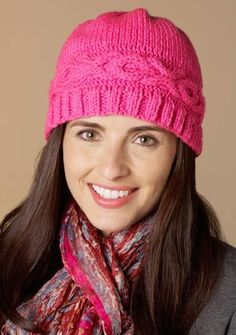 Hug & Kisses Hat by Heather Lodinsky - free pattern