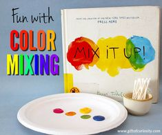 Over time, I've done a few color mixing activities to help my children learn about the primary colors and how they combine to form secondary colors. We previously did a simple color theory activity using liquid watercolors as well as a slightly more advanced color mixing activity using liquid watercolors. We also did a fun color …