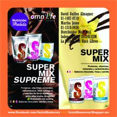 Super Mix es uno de los multi vitamínicos más completos para su familia, desde los pequeños hasta adultos de cualquier edad.