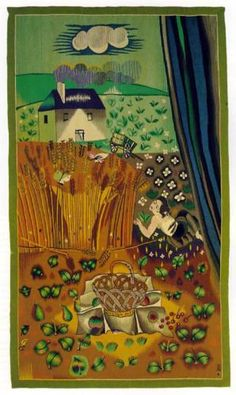 Aubusson tapestry - Raoul Dufy  1941