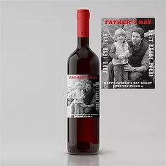 A choice of Premium Red Wines The label can be personalised with your message to create a humorous and wonderful unique gift! For more information on this item and more visit our online shop. Good Daddy, Personalized Labels, Printing Labels, Order Prints, Fathers Day, Alcoholic Drinks, Unique Gifts, Black And White, Bottle
