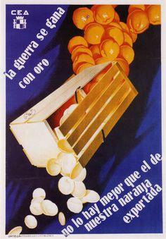 Spanish Civil War poster (1936-1939)