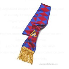 Royal Arch Sash - Supreme Grand Chapter Regalia