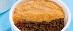 S.O.S. Comer Saudável : Escondidinho de abóbora com carne
