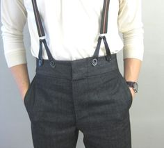 fish tail trousers
