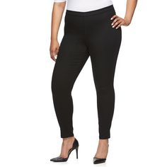 Plus Size Jennifer Lopez Skinny Ankle Jeggings, Women's, Size: 20W T/L, Black