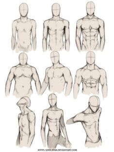 How To Draw Muscles Anime