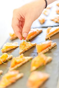 Salmon canapes Salmon Canapes, Kitchen, Cuisine, Home Kitchens, Kitchens, Cucina