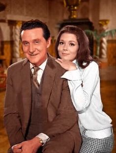 Steed and Mrs. Peel, The Avengers.