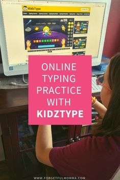 KidzType is a free typing program for kids learning to type for the first time. It teaches them how to type properly from the start, without bad habits. - Kids education and learning acts Typing Programs For Kids, Typing Practice For Kids, Homeschool Apps, Homeschooling Resources, Learn To Type, Online Typing, Importance Of Time Management, Typing Games, Programming For Kids