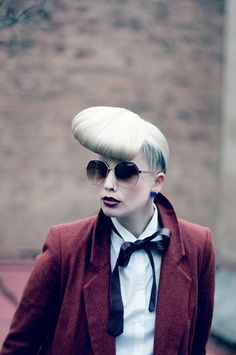 An entry from Project: Training Hairdresser, Alice, Tumblr, Train, Projects, Model, Photography, Style, Fashion