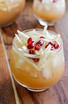 Fall Pitcher Cocktail Recipe: Sparkling Apple Cider Sangria