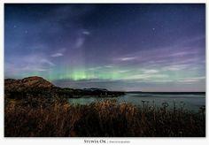 Northern lights, Kodiak Alaska. 9/30/12 by Sylwia Ok Photography