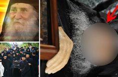 ULUITOR! Dovada CLARĂ că există viață după moarte: un părinte din Muntele Athos a zâmbit la 45 de minute după moarte! VEZI AICI