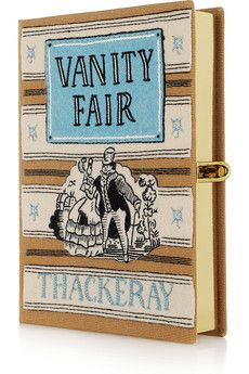 Gina Ketchup loves Olympia Le Tan's clutch version of Vanity Fair by Thackeray
