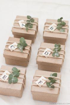 DIY Paper Mache Gift