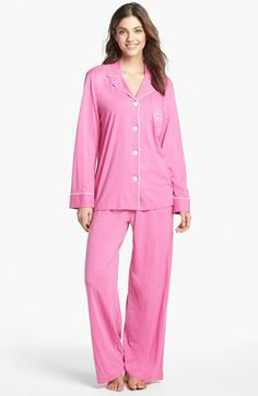 Lauren Ralph Lauren Sleepwear Knit PJ s--what woman doesn t love a crisp 8da166548