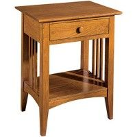 Mission Contemporary Nightstand Woodworking Plan
