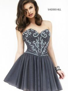 The Sherri Hill homecoming dresses you love, all in one place! Find these Sherri Hill gowns and more at www.henris.com