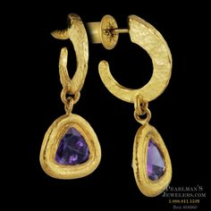 Gurhan Gurhan 24 karat yellow gold earrings from Pearlman's Jewelers