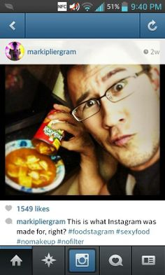 So Mark got an Instagram...