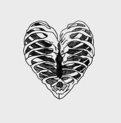 love drawing heart Sketch skeleton bones ribs ribcage organ chasing-the-beautiful-life Drawing Heart, Butterfly Drawing, Drawing Flowers, Png Tumblr, Tumblr Transparents, Heart Sketch, Rib Cage, Twenty One Pilots, The Twenties