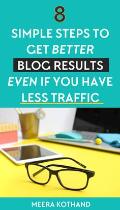 Think your blog is doomed if you have less traffic? It's not the end of your blog if you follow these 8 simple steps to get more out of the little traffic you have. you'll see your income and email soar even with less than 20k page views.