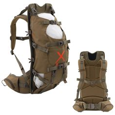Amazon.com: ALPS OutdoorZ Extreme Commander X Frame Pack-Coyote Brown: Sports & Outdoors Diy Backpack, Hiking Backpack, Canvas Backpack, Hunting Stuff, Hunting Gear, Hiking Bags, Hunting Packs, Urban Style Outfits, Back Bag