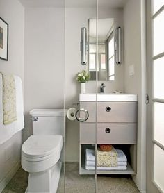 17 Useful Ideas For Small Bathrooms   Small Bathroom, Small Bathroom Designs  And Bathroom Designs
