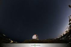 silhouette shot, wide angle, stars, artsy  Laguna Beach Engagement | Kyle & Stephani