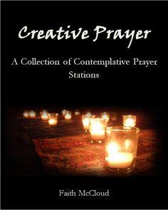 Creative Prayer: A collection of Contemplative Prayer Stations Prayer Wall, Prayer Room, Prayer Prayer, Prayer Ministry, Youth Ministry, Ministry Ideas, Praying The Psalms, Contemplative Prayer, Prayer For Church