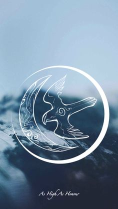 Game of Thrones - wallpaper - House sigil - Arryn by EmmiMania.deviantart.com on @DeviantArt