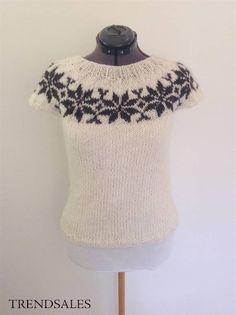 Fru Strik - Sarah Lund, Bluse, sweater, trøje, sommerbluse, strik, sommerstrik, Fru Strik